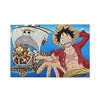 ワンピース One Piece ジグソーパズル キャラクター パズル アニメパターン 萌えグッズ 子供 初心者向け ギフト プレゼント1000枚