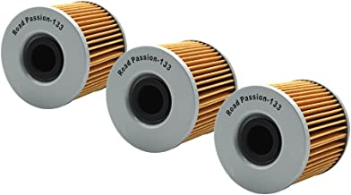 Road Passion Oil Filter for Suzuki GSX750 1979-1989/GSX750 Katana 750 1984-1986/GSX550 1983-1987 (pack of 3)