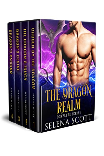 The Dragon Realm Complete Series (Books 1 - 4): A Dragon Shifter Paranormal Romance