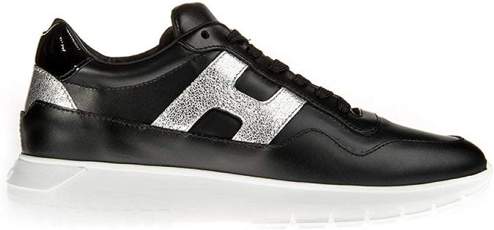 Hogan h 371 interactive 3 lurex sneaker casual da donna HXW3710AP20JI80353
