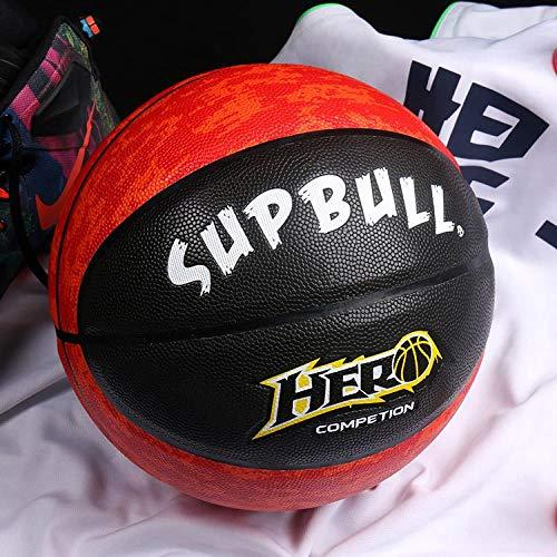 Why Choose Sports Goods No.7 Basketball Match, MC - Red and Black, No. 7 Basketball (Standard Ball)