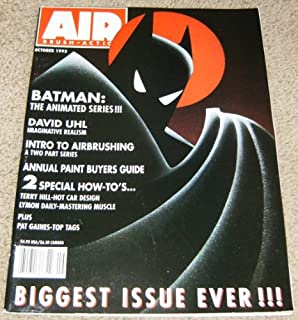Air Brush Action Magazine Issue #2 (Batman Biggest Issue Ever!, Volume 9)