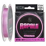 Rapala(ラパラ) PEライン ラピノヴァX マルチゲーム 150m 0.8号 17.8lb 4本編み ピンク RLX150M08PK