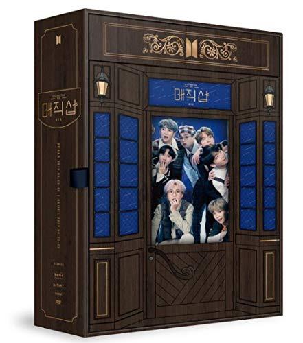 [サイン写真付] BTS 5th Muster MAGIC SHOP (DVD, CODE3) (4-Disc + Photobook + Pop-Up Box + Invitation Card + Photo Card) (韓国版)[+両面トレカ][+