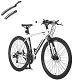 カノーバー(CANOVER) クロスバイク 自転車 前後泥除けセット 21段変速 ディスクブレーキ CAC-027-DC ATHENA ホワイト 50050
