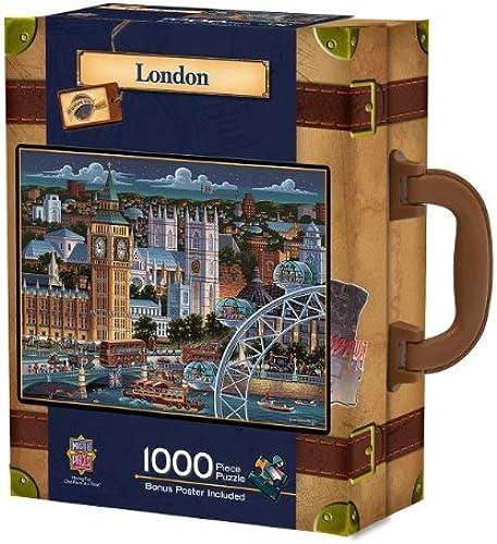 London (1000 PC Suitcase Puzzle)