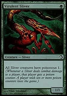 Magic: the Gathering - Virulent Sliver - Premium Deck Series: Slivers - Foil