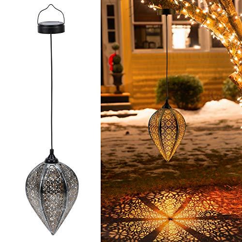 Linterna Solar Exterior Lámpara de Jardin,OxyLED 2 PCS IP44 Impermeables 600 mAh Decorativa Luces Solares de Camino de Paisaje Para Patio,Césped,Pasillo,Festival