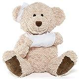 Muiteiur Get Well Soon Teddy Bear Stuffed Animal Big Speedy Recovery Teddy Bear Gifts for Kid Adult After Surgery Soft Bandage Plush Bear, 25.6 Inch