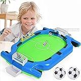ZYCH Mesa de Fútbol Futbolín Juego de Mesa Baby Foot Infantil para Niños Fútbolista Deporte Patada de Mesa Mesa de Fútbol Futbolín de Juegos