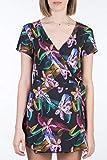Hurley W Waimea Wrap Dress Vestido, Mujer, Black/(Black), M