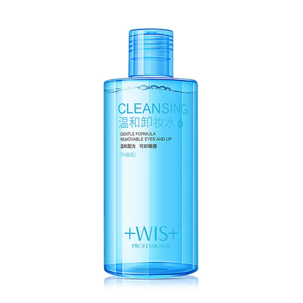 WIS Oil-Free Liquid Face Makeup Residue-Free Non-Greas Max 47% Las Vegas Mall OFF Remover