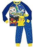 pokémon pigiama a maniche lunga per ragazzi - 9-10 anni