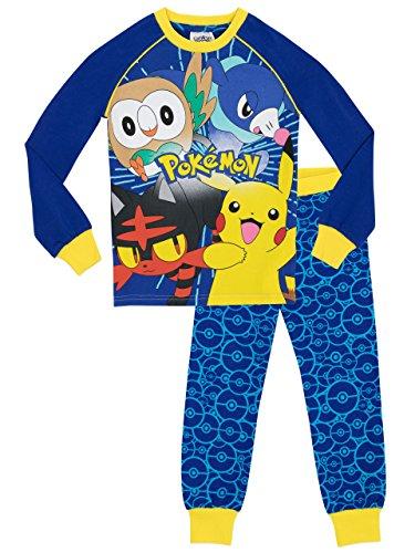 Pokemon Jungen Schlafanzug - 140