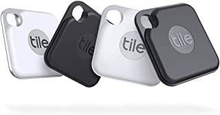 Tile Pro (2020) 電池交換版 4個パック 探し物/スマホが見つかる 紛失防止 日米シェアNo.1 スマートスピーカー対応[Compatible with Alexa認定製品]【日本正規代理店品】 RE-20004-AP