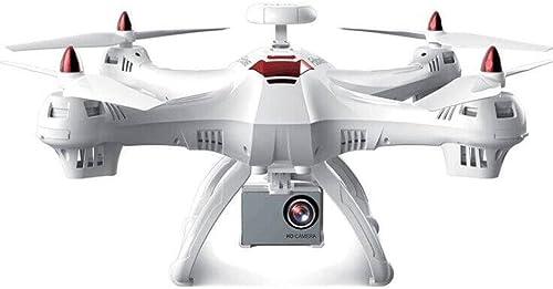 Igemy drohne RC Smart Drohne mit 5G 1080P Wifi FPV Kamera, 6x RC Quadcopter mit GPS, Größe Fernbedienung Flugzeug Spielzeug Hubschrauber 2,4 GHz und 5,8 GHz 5G WIFI Kamera (optional) (Weiß)