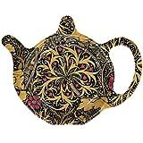The Leonardo Collection William Morris Seaweed Floral Design Teabag Coaster