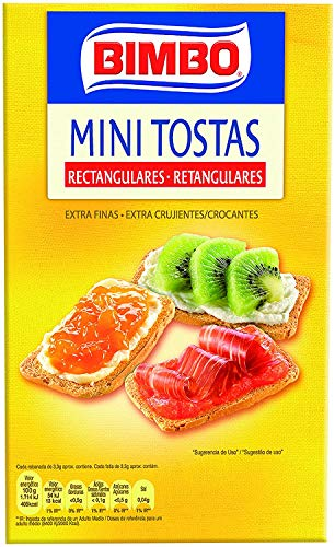 Bimbo Mini Tostas Rectangulares - 100 g