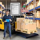 Prime Scales 10000lb Industrial Pallet Scale/Floor Scale 40