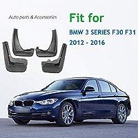 のための 4 個の車のフロントリアフェンダーフレアのための BMW 3 シリーズ F30 F31 2012 2013 2014 2015 2016 スプラッシュガード泥フラップマッドガード泥よけ