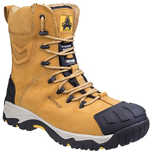 Amblers Safety FS998 S3 Safety Boots Honey Size 9