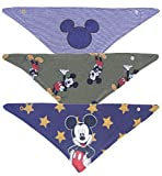 3 x babero Mickey Mouse DISNEY
