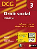 Droit social 2015/2016