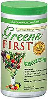 Greens First - Original - 60 Servings - Nutrient Rich-antioxidant Superfood, 49 Different Super Foods,phytonutrient & Antioxidant, Revitalize, Gluten Free, Vegan & Non-GMO - 19.90 Ounces