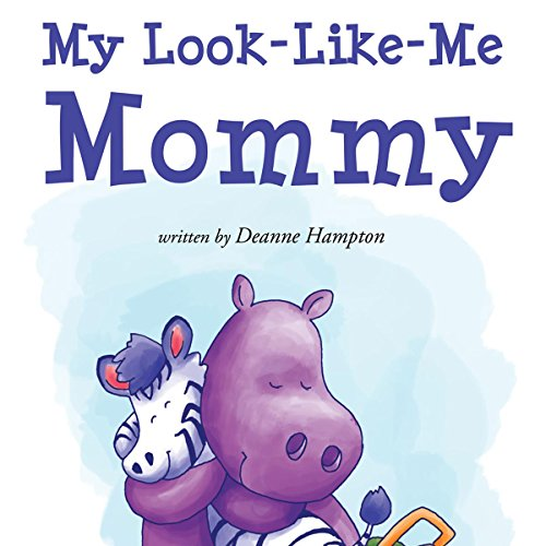 My Look-Like-Me Mommy  audiobook cover art