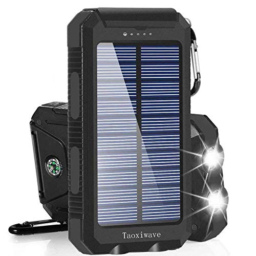 Solar Charger Solar Power Bank 2000…