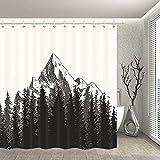 NNAYD1996 Tinta Pintura montaña Pico Impresión Digital a Prueba de Agua y Moho