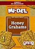 Mi-Del Graham Crackers, Whole Wheat Honey, 16 Ounce Boxes (Pack of 12)