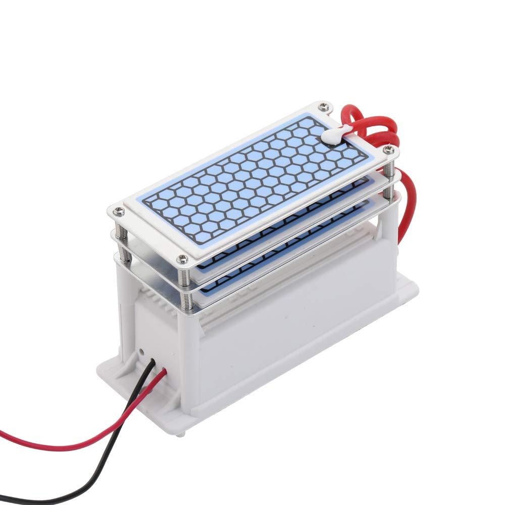 Montloxs Portátil 15g / h Generador de ozono de cerámica Triple ...