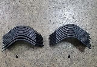 8 Each LH & RH Tiller Tines for Befco T30 Series Tiller 003-0104S & 003-104D