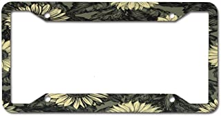 Racing angel Metal License Plate Car Decoration- License Plate Frame Tag(12X6)