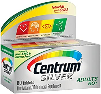80-Count Centrum Silver Adult Multivitamin Supplement Tablet