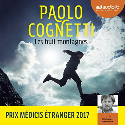 Les huit montagnes audiobook cover art