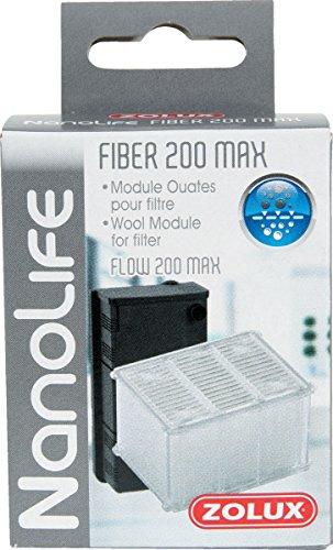 Zolux Module ouates Fiber 200 Max pour Filtre NANOLIFE Flow 200 Max