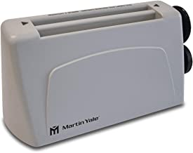 Martin Yale P6400 Desktop Letter Folder; Folds Up To 36 Letters a Minute, 2200 Sheets an Hour; Hand-fed, Folds 1-3 Sheets and Accepts Stapled Sets