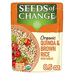 Made with USDA certified-organic ingredients A delicious blend of organic quinoa and organic brown rice Microwave rice in 90 seconds Free of artificial colors, flavors, and preservatives Vegetarian friendly