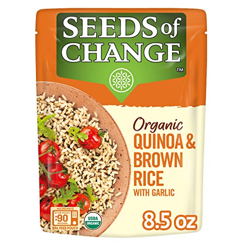 SEEDS OF CHANGE Organic Quinoa amp Brown Rice 85 Ounce Pack of 12