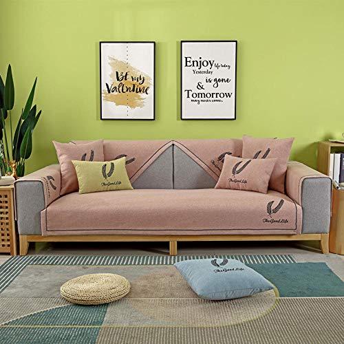 fundas sofa,Fundas de sofá de tela de oficina,funda de sofá universal de 2/3/4 plazas,funda antideslizante de silla de sofá de algodón,para perro gato mascota protect-Cada pieza se vende por separado