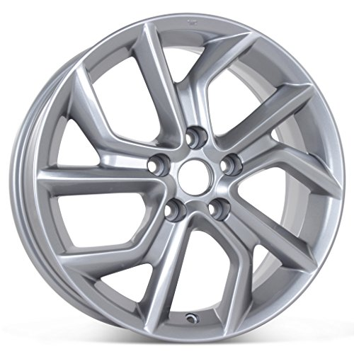 "New 17"" x 6.5"" Alloy Replacement Wheel for Nissan Sentra 2013 2014 2015 Rim 62600"