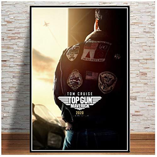 Film Tom Cruise Film Bande Dessinée Affiches Et Impressions Peintures Pour Salon Mur Décoration de La Maison Impression De Mode Affiche-50x75 cm Sans Cadre