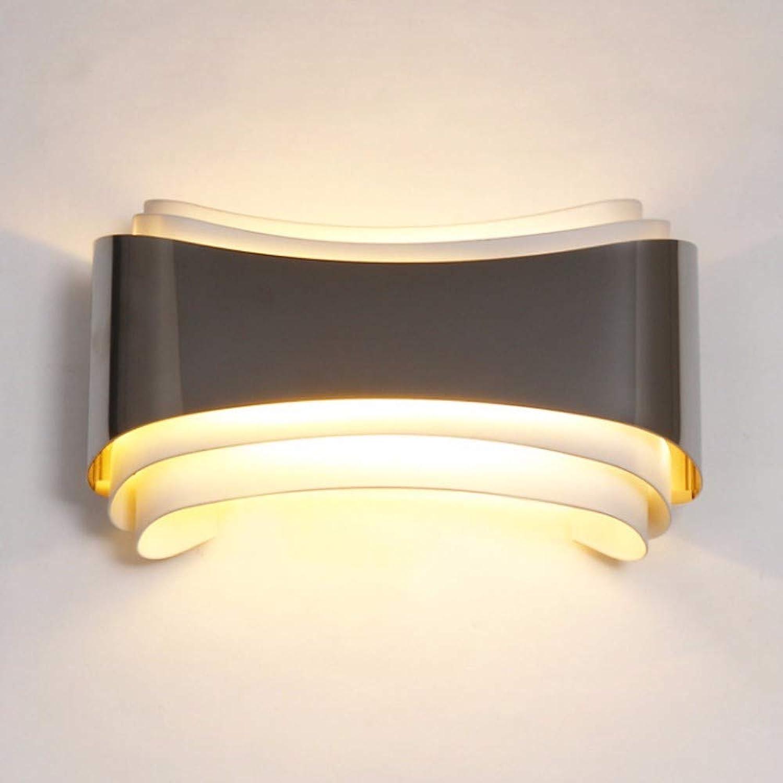 Schlafzimmer lampe moderne einfache wand lampe café freizeit hall hotel mit besonderen gestaltet eisernen mauer lampe geführt.