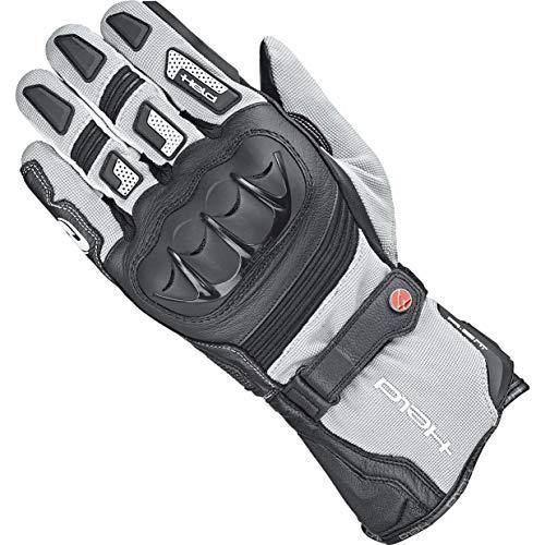 Held Motorradhandschuhe kurz Motorrad Handschuh Sambia 2in1 Gore-Tex® Handschuh schwarz/grau 10, Herren, Enduro/Reiseenduro, Ganzjährig, Leder/Textil