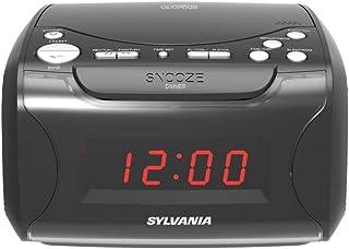Sylvania Scr4986 USB-Charging Cd Dual Alarm Clock Radio 9.40in. x 8.40in. x 5.70in.