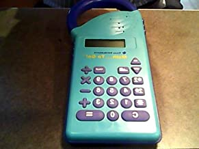 1989 Texas Instruments Texas Instruments Math.to Go! Lcd Kids Style Calculator-cobolt Blue/teal Version with Purple Buttons with White Letters and Numbers Lettering)