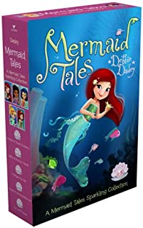 A Mermaid Tales Sparkling Collection: Trouble at Trident Academy; Battle of the Best Friends; A Whale of a Tale; Danger in...