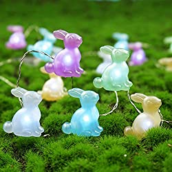 easter string lights home decor outdoor decorations